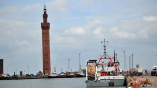 Grimsby Docks in 2011