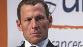 This file picture taken on August 29, 2012 in Montreal shows Lance Armstrong attending the World Cancer Congress