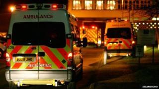 Ambulances at HMP Isle of Wight - IslandEcho