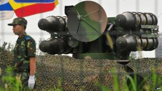 Chinese air defence system - file pic