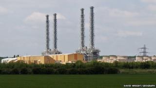 Brigg power station