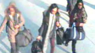 CCTV of the three girls