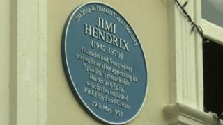 Hendrix plaque