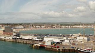 Weymouth ferry terminal