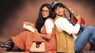 Shah Rukh and Kajol in
