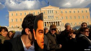 Anti-austerity demonstration in Athens