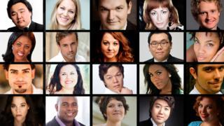 BBC Cardiff Singers group