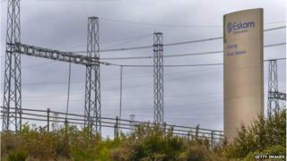 Eskom power lines