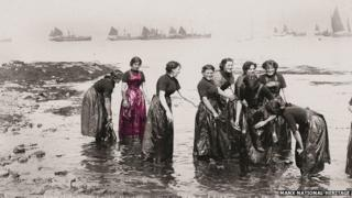 Herring Girls at Port St. Mary