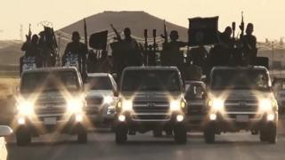 A video released by Islamic State's official Al-Raqqa site on 23 September 2014 purportedly showing new recruits
