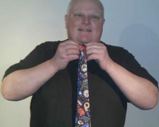 Photo from Rob Ford's Ebay page