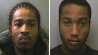 Anh-Tuan Tran-West (left) and Christopher Longe, convicted for drug offences