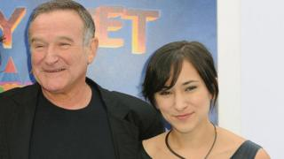 Robin and Zelda Williams