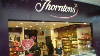 Thorntons shop front