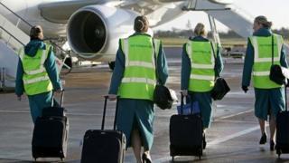 Aer Lingus cabin crew