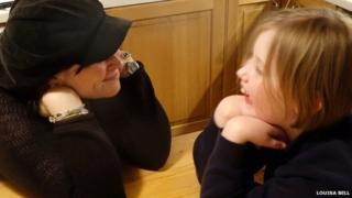 Louisa Bell and daughter Ciara
