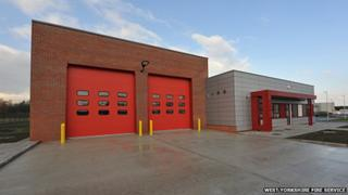 South Kirkby fire station
