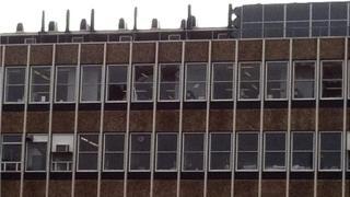 University explosion