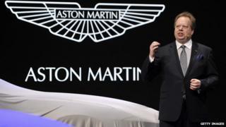 Aston Martin chief executive Andy Palmer