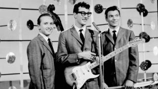 Holly's band The Crickets