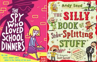 The Spy Who Loved School Dinners and The Silly Book of Side-Splitting Stuff