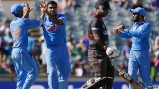 India v UAE
