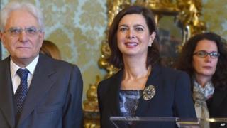 Laura Boldrini - file pic