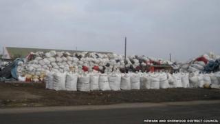 Newark rubbish bags