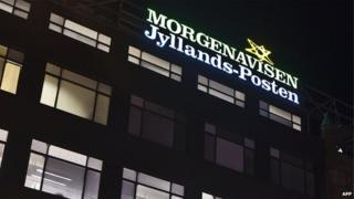 The Jyllands-Posten office