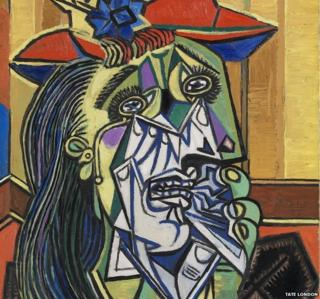 Weeping Woman by Pablo Picasso ©Tate, London 2015