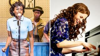 Beverley Knight in Memphis and Katie Brayben as Carole King in Beautiful