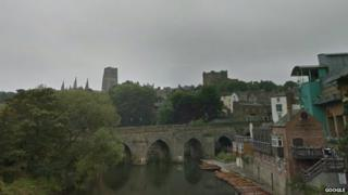 The River Wear in Durham