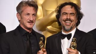 Sean Penn and Alejandro Gonzalez Inarritu