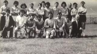 St Colmcille's Gaelic football team pictured in 1970-71