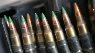 """The rule change would have affected only """"M855 green tip"""" ammunition"""