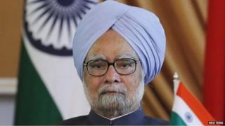 File photo of Indian Prime Minister Manmohan Singh