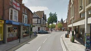Peach Street in Wokingham
