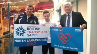 Transplant Games announcement
