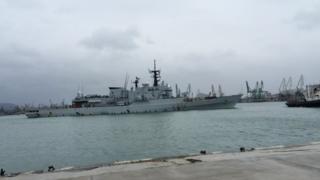 Italian frigate