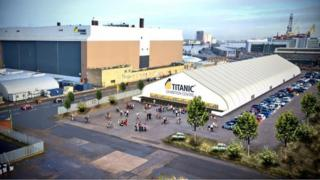 Titanic Quarter has revealed plans to develop Belfast's largest dedicated exhibition centre