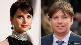 Felicity Jones and Gareth Edwards