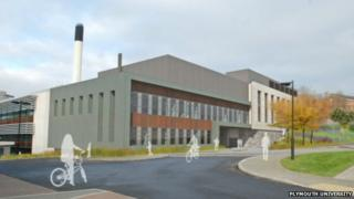 Artist's impression of Plymouth University's research centre. Pic: Plymouth University