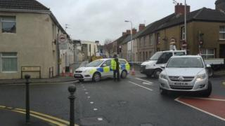 St Catherine Road closed after house fire