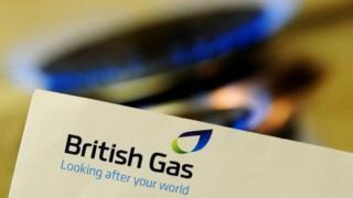 Gas hob with British Gas bill