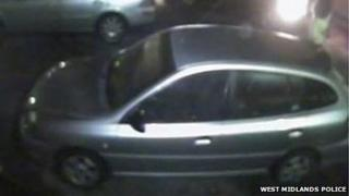 Vauxhall Astra being sought by police
