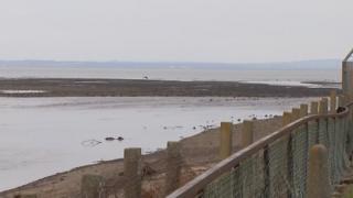 sea near where body was found