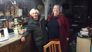 Houseboat residents