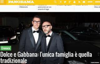 the website of Panorama magazine