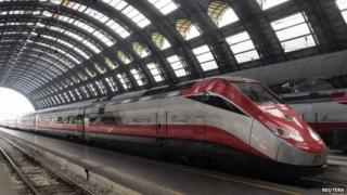 Italian high-speed train - file pic