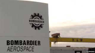 Bombardier Aerospace in Belfast